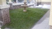 Поставяне на тревен чим